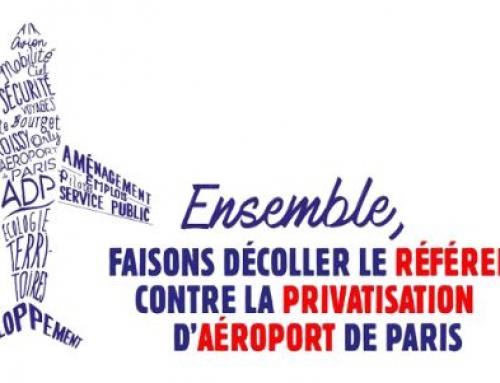 Référendum contre la privatisation d'Aéroports de Paris