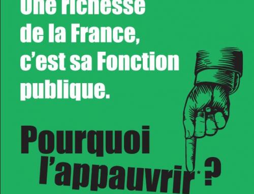 La Fonction publique dans la grève du 10 décembre
