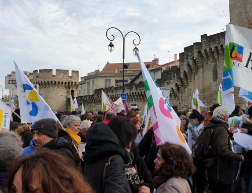 En grève et en action, les 14, 15, 16 janvier
